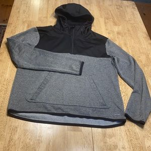 Champion duo dry quarter zip, hooded sweatshirt